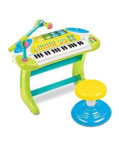 Keyboard med krakk