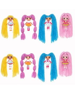 Lalaloopsy Mini Loopy Hair dukke - assortert