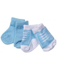 Baby Born sokker 2 pakning - blå