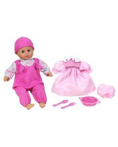 Lissi My Baby dukke med 6 lydfunksjoner - 46 cm