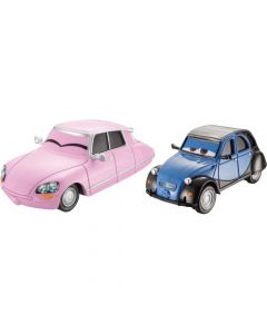 Disney Cars Die Cast 2 pakning - Nancy og John