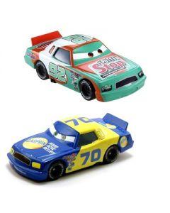Disney Cars Die Cast 2 pakning - Sputter Stop Nr.92 og Gasprin Nr.70