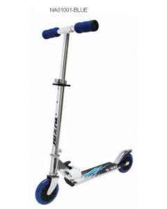 Sparkesykkel med ABEC hjul - blå
