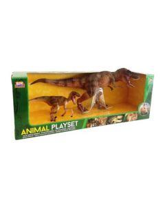 Dinosaursett - 2 dinos