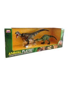 Dinosaursett - 2 stk