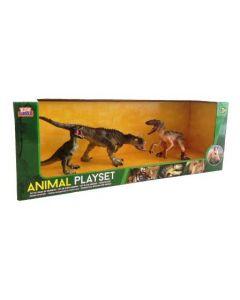 Dinosaursett - 3 stk
