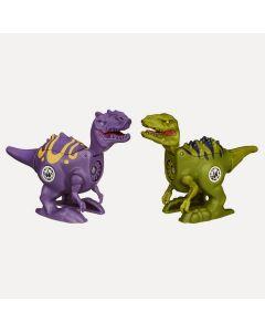 Jurassic Park Brawlasaur Versus Pack - Velociraptor vs.Allosaurus