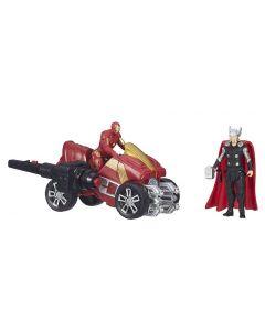 """Avengers 2.5"""" Deluxe Figure - Thor og Iron Man"""