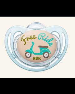 NUK Freestyle silikonsmokk 6-18 mnd