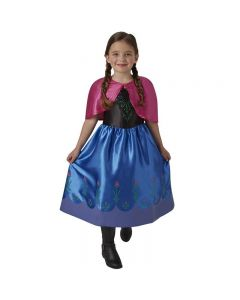 Disney Frozen Anna kjole 7-8 år
