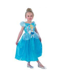 Disney Princess Askepott kjole 7-8 år - 128 cm