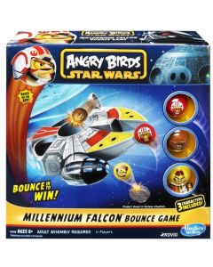 Star Wars Angry Birds Millennium Falcon Bounce Game