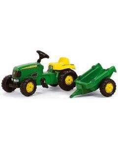 RollyToys John Deere traktor - plasthjul