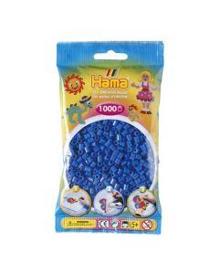 Hama Midi 1000 perler blå