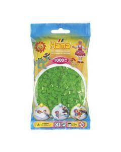 Hama Midi 1000 perler neongrønn