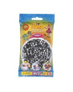 Hama Midi 1000 perler Sølv