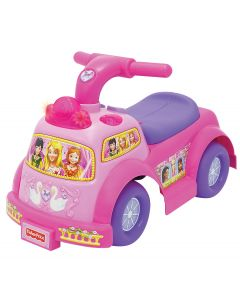 Fisher Price prinsesse-rosa gåbil