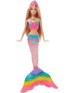 Barbie havfrue med lys