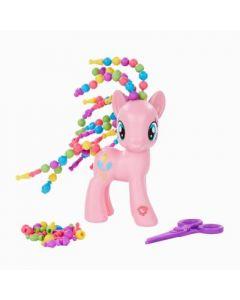 My Little Pony Fashion Cutie Twisty-Do Pinkie Pie hårsett - 15cm