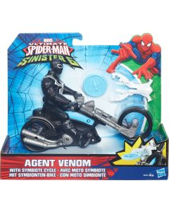 SPIDER-MAN Web City Cycle - Agent Venom