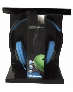 Grundig Silver Edition Headset - hodetelefoner - blå