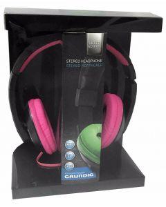 Grundig Silver Edition Headset - hodetelefoner - rosa