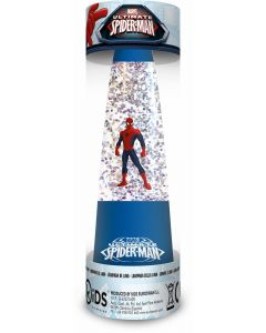 Spider-Man glitterlampe