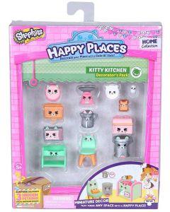 Shopkins Happy Places interiørsett - sesong 1 - Kitty Kitchen