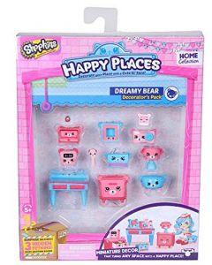 Shopkins Happy Places interiørsett sesong 1 - Dreamy Bear