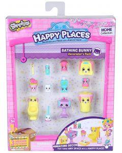 Shopkins Happy Places interiørsett - sesong 1 - Bathing Bunny
