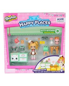 Shopkins Happy Places velkomstpakke - sesong 1 - Kitty Kitchen