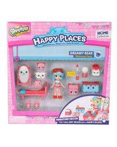 Shopkins Happy Places velkomstpakke - sesong 1 - Dreamy Bear