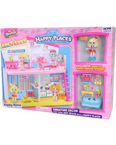 Shopkins Happy Places Happy Home lekesett