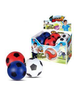 Fotball 12 cm - softball - assortert