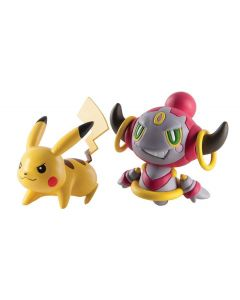 Pokemon battle figures - Pikachu vs Hoopa Confined