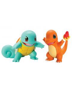 Pokemon battle figures - Squirtle vs Charmander