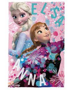 Disney Frozen fleecepledd - 150x100 cm