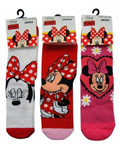 Minnie Mouse sokker 3-pack - 31-34