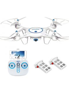 Syma X5UW drone med Wifi og hover - hvit